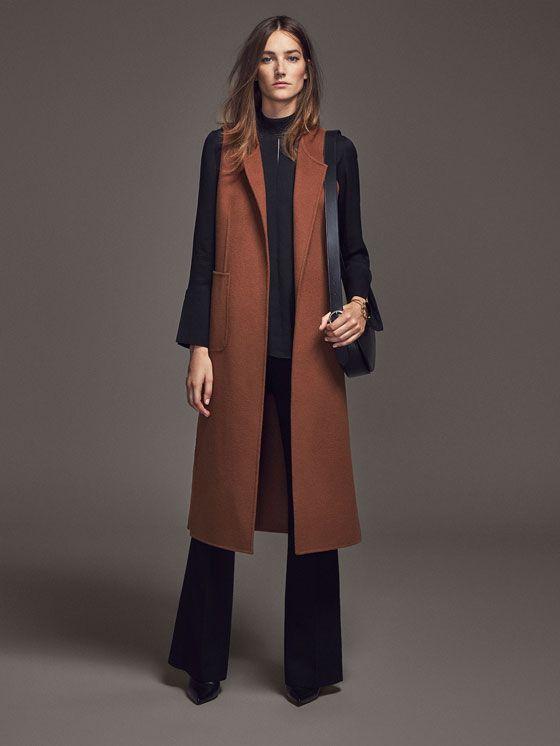 Gilet Limited Edition Dutti Mode En Long Femme Massimo Femme w4TqxSFCw
