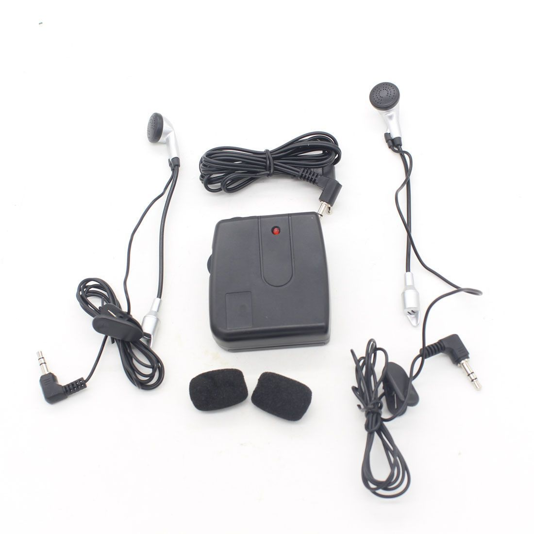 Dongzhen Compact Motorcycle Wired Talkie Portable Headset Intercom ...