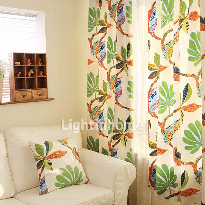 Pin By Sheri Shimogaki Lemrick On Home Decorating Ideas Tropical Curtains Kids Room Curtains Printed Curtains #tropical #curtains #for #living #room