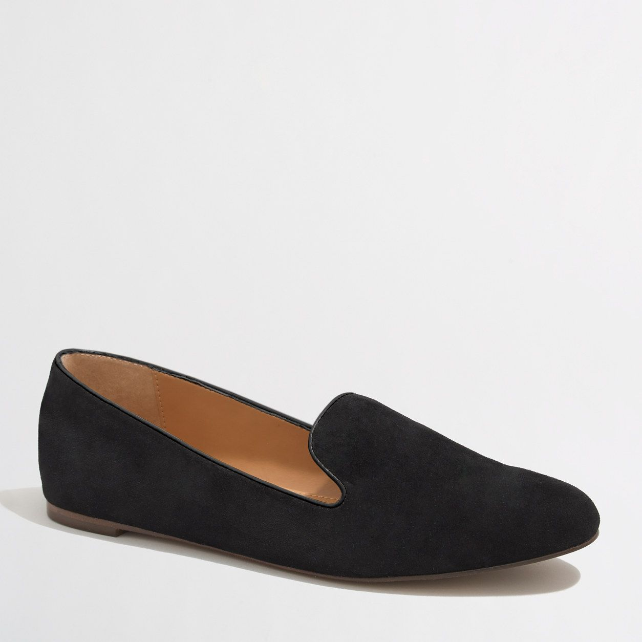 Factory Addie suede loafers   Black