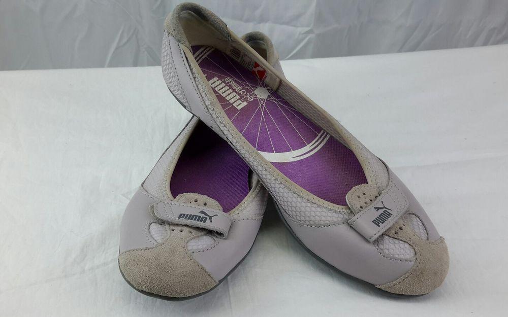 41d22c8a82a Puma Women Sport Lifestye Zandy Gray Ballet Flat Slip-On Size 6.5M ...