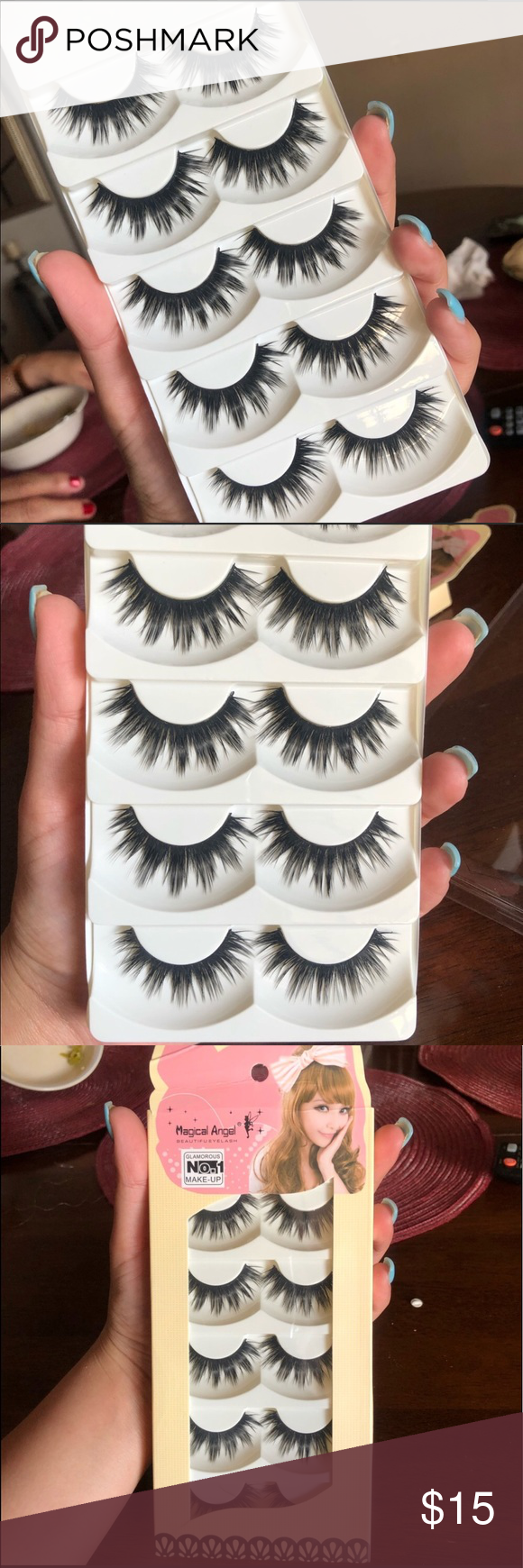 0fb3d2856d5 5 Pairs Mink Long Eyelashes New in Box❗ They are Beautiful😍 Soft Lashes,  Great Quality, Cute eyelook Makeup False Eyelashes