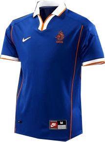 5ef3ff2f63185 Holanda 1998 Nike Away Seleccion De Holanda