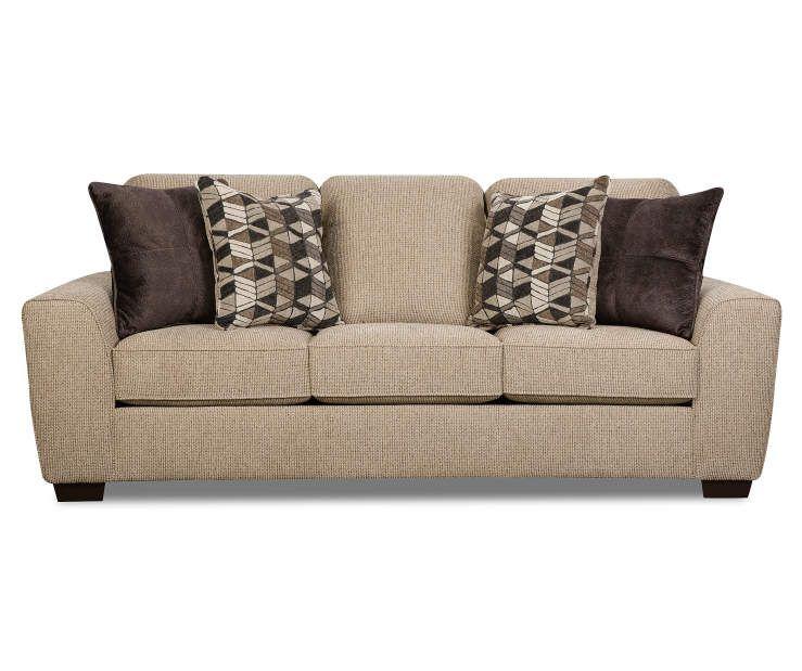 Lane Home Solutions Horizon Tan Chenille Sofa Big Lots Chenille Sofa Living Room Furniture Collections Big