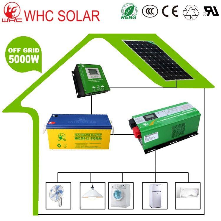 Home Pure Sine Wave Solar Inverter 12v 220v 5000w Circuit