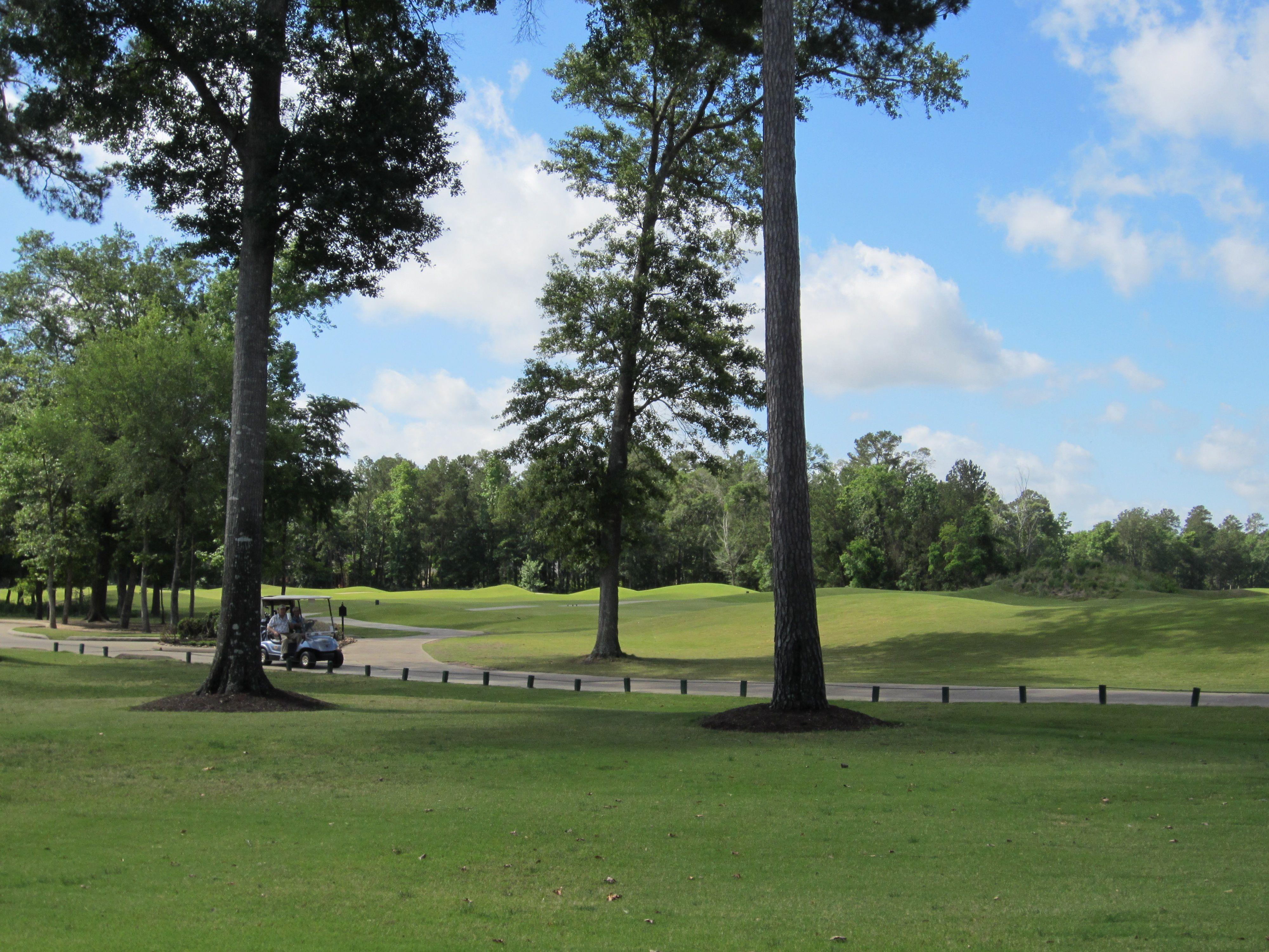 Lake Windcrest's Golf Course Lake, Magnolia, Texas real