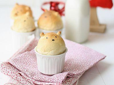テディベアのパン