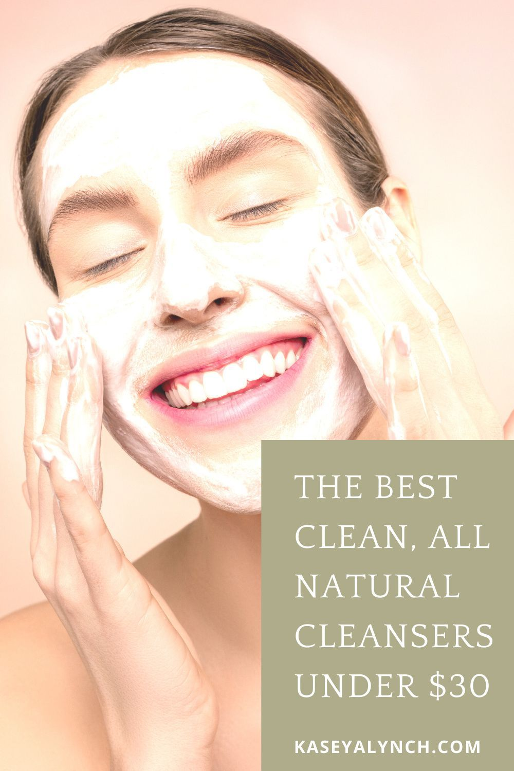Clean skincare products don't have to cost a lot. Your skin deserves the best, which is why I compiled the best all natural cleansers under $30. Happy shopping!   #cleanskincare #naturalskincare #organicskincare #cleancleansers #organiccleansers #organicbeauty #allnaturalskincare #cleanbeauty #organicbeauty #cheapcleansers #affordableskincare