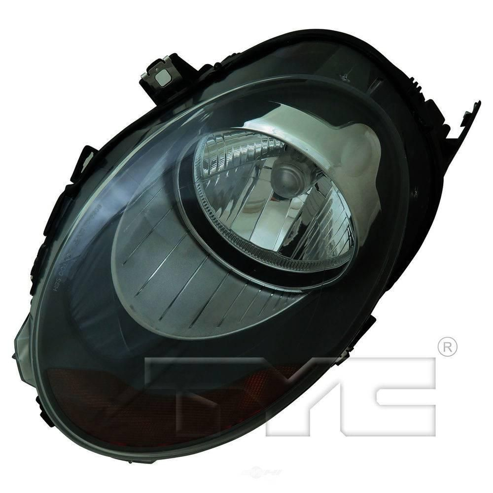 Tyc Headlight Assembly 2014 2015 Mini Cooper 1 6l 20 9810 00 The Home Depot In 2021 Headlight Assembly Tyc Mini Cooper