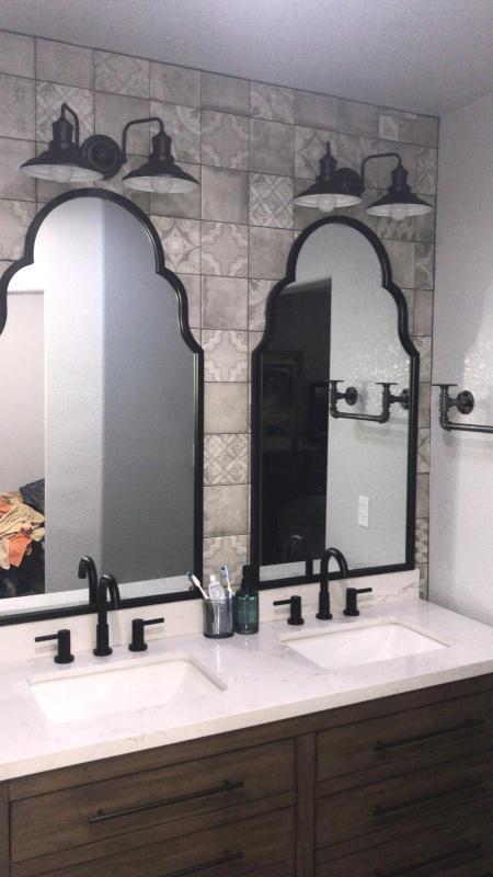 Review Photo 1 Black Bathroom Mirrors, Black Bathroom Mirrors