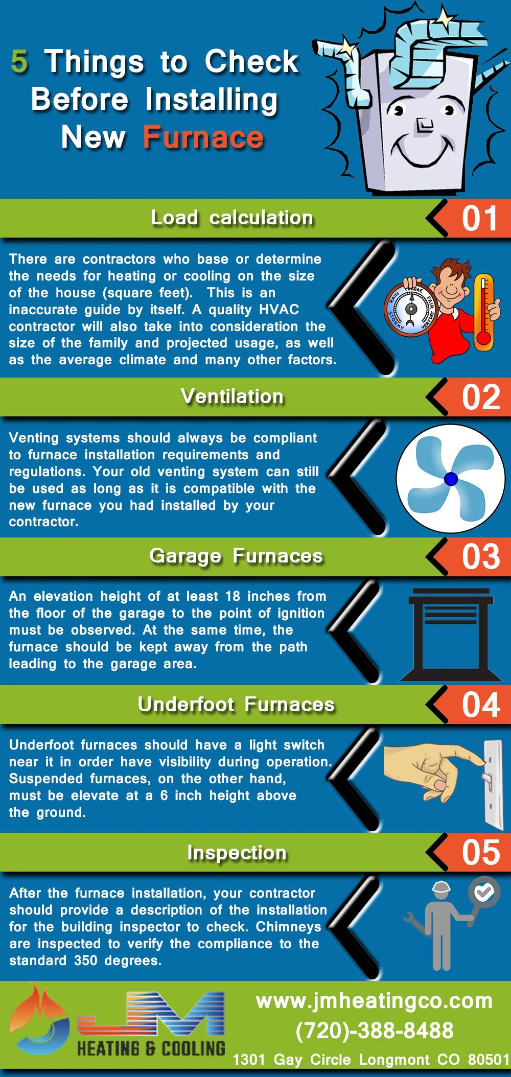 5 Things to Check Before Installing New Furnace Air