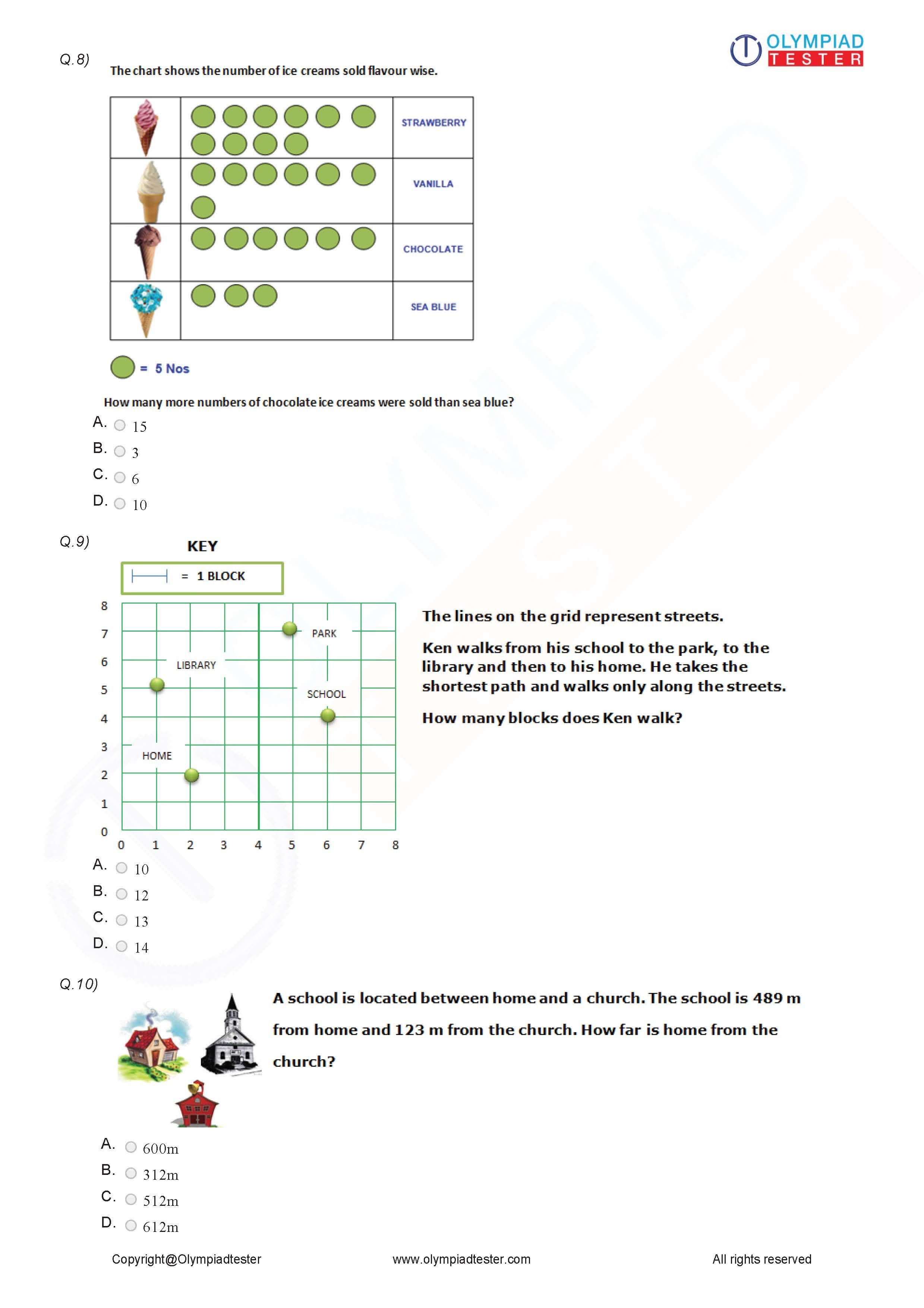 Class 3 Logical Reasoning Worksheet 10 1st Grade Worksheets 2nd