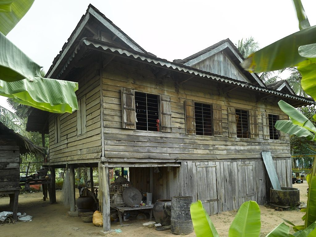 Indochina modern khmer house in cambodia · cambodiaasia