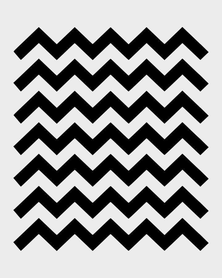 Chevron Stencil Zig Zag Stencils Template Templates Paint Art Craft ...