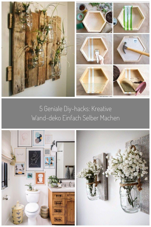 5 Geniale Diy Hacks Kreative Wand Deko Einfach Selber Machen