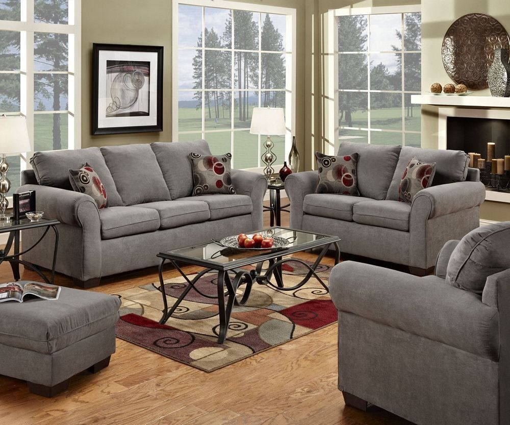 Simmons 1640 Sofa Loveseat Chair Ottoman Living Set Decorative Impressive Discount Living Room Sets 2018