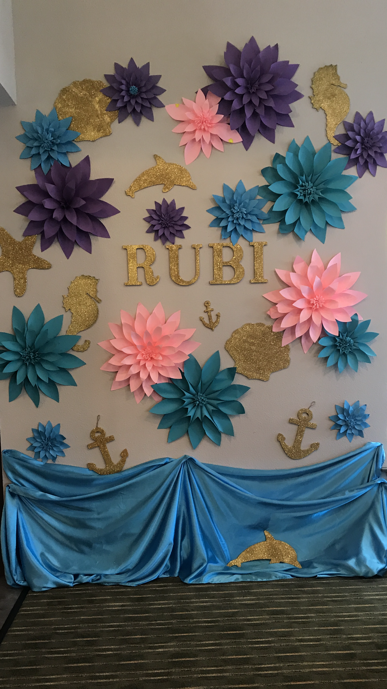 Pin By Claudia Romero On Mermaid Theme Party With Images
