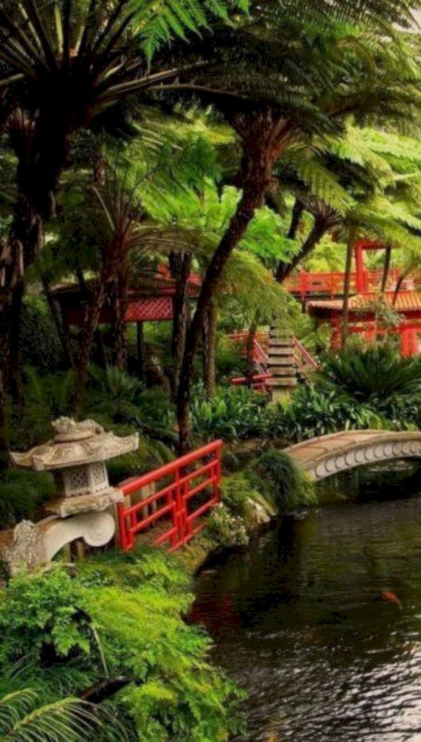 53 Astonishing Partition Design Ideas For Living Room Roundecor Japanese Garden Design Japanese Landscape Japanese Garden
