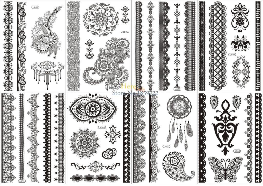 Related image Lace tattoo, Henna tattoo stickers, B tattoo