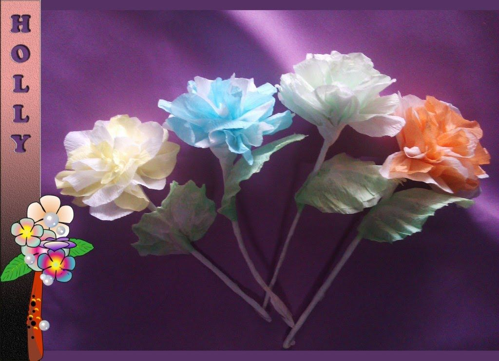 How to make tissue paper flowers easy unique tissue paper flowers how to make tissue paper flowers easy unique tissue paper flowers tuto mightylinksfo