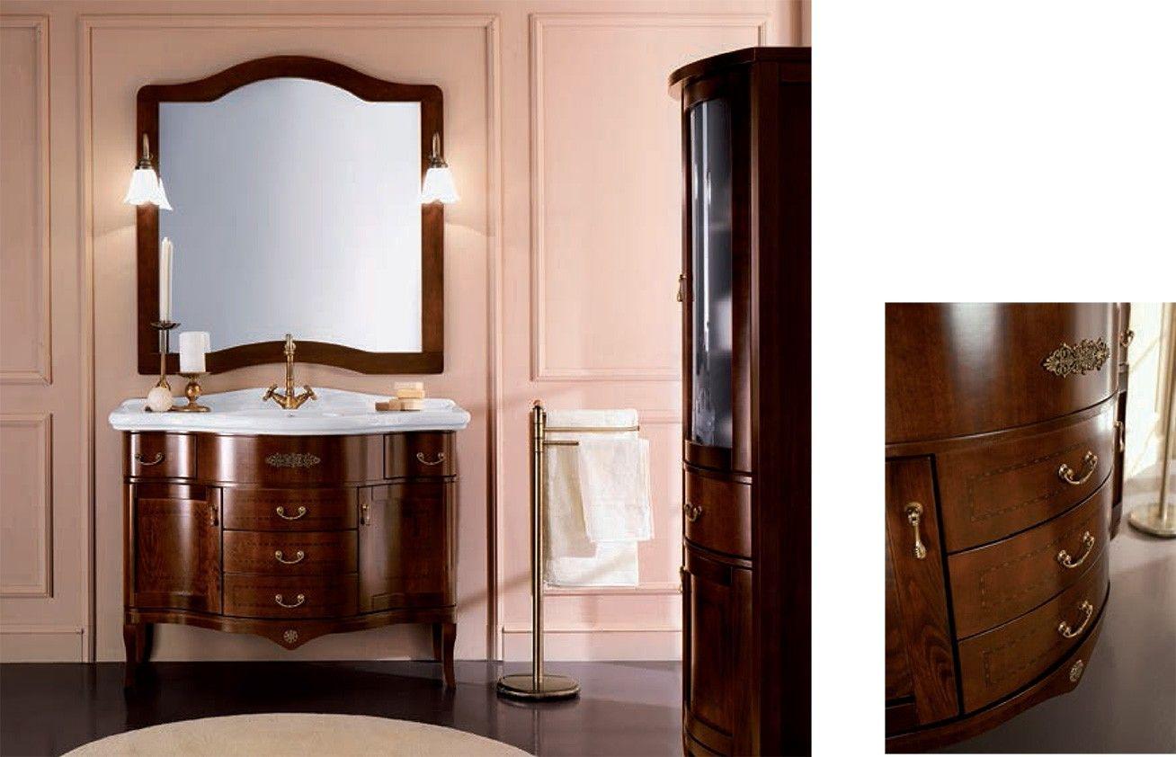 Mobili Per Il Bagno Classico.Mobile Bagno Classico Con Lavabo Integrale Mobile Bagno