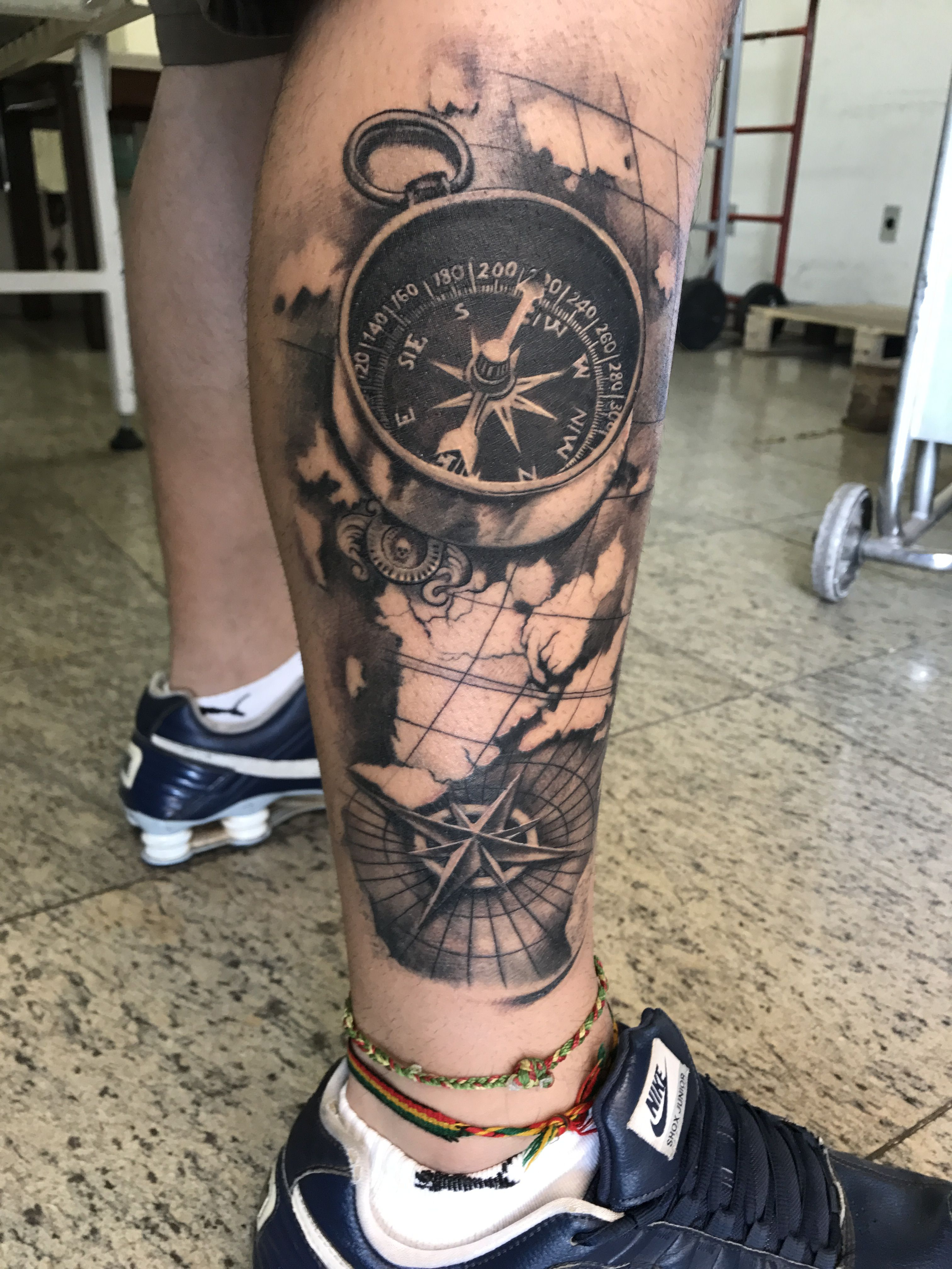 Tattoo ubiratanamorim bussola ubiratanamorim compass for Tatoo bussola