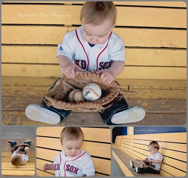 Amanda Day Photography: Max turns One | Southern Maryland Child Photographer  | one year photo session | baseball themed photo session | child photography session