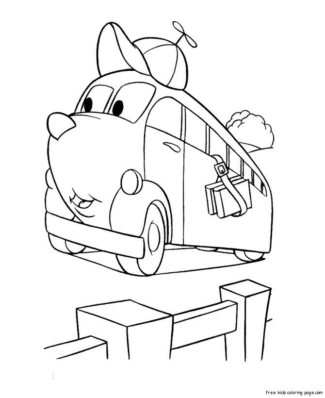 Printable monster truck coloring pages for kids.Print out ...