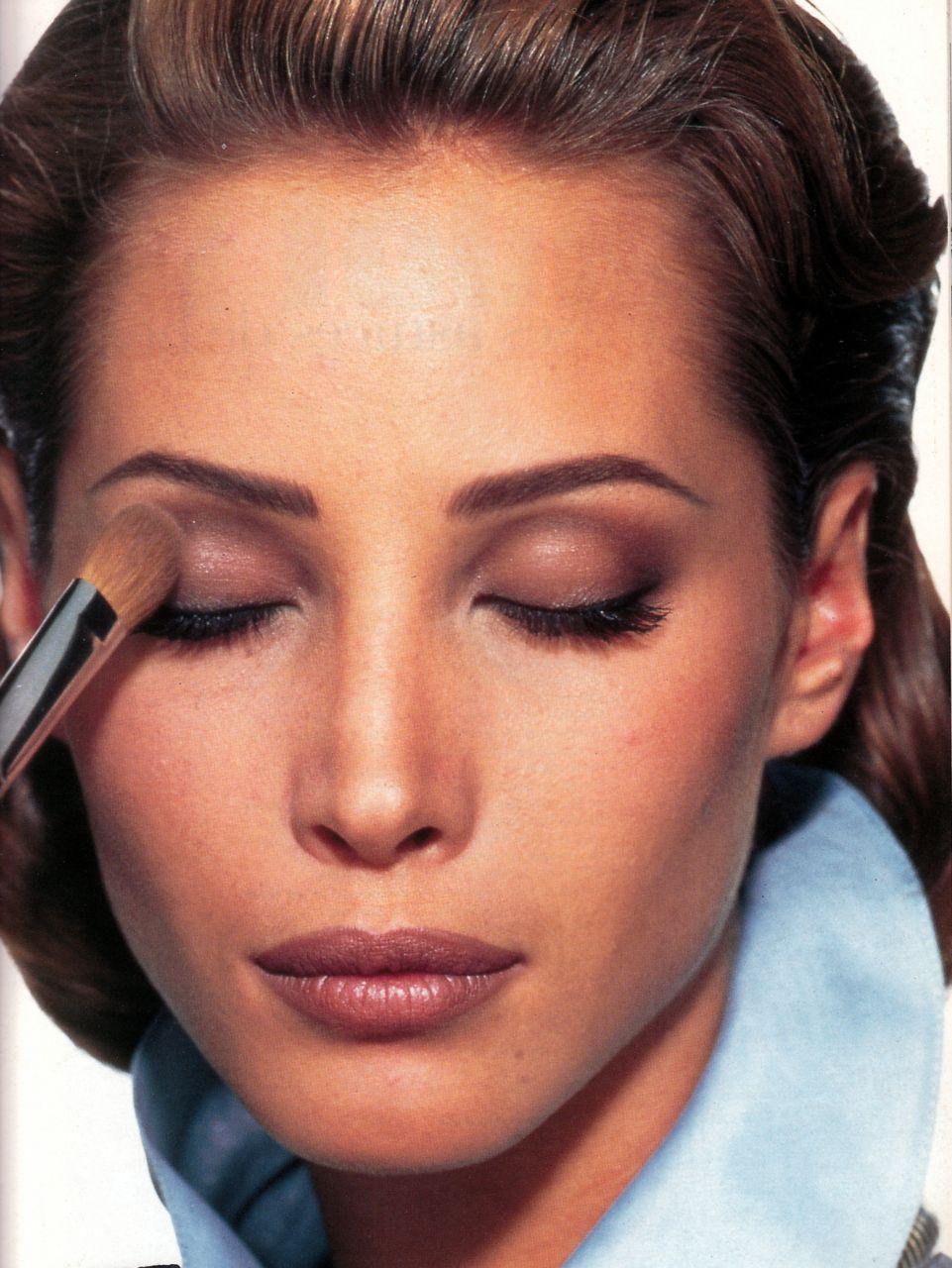 Christy Turlington 90s Makeup 1990s Makeup Christy Turlington