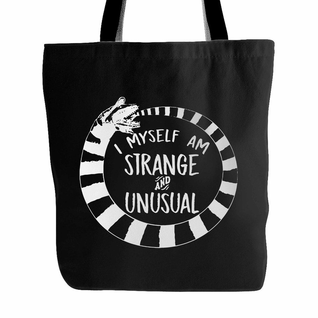 I Myself Am Strange And Unusual Tote Bag