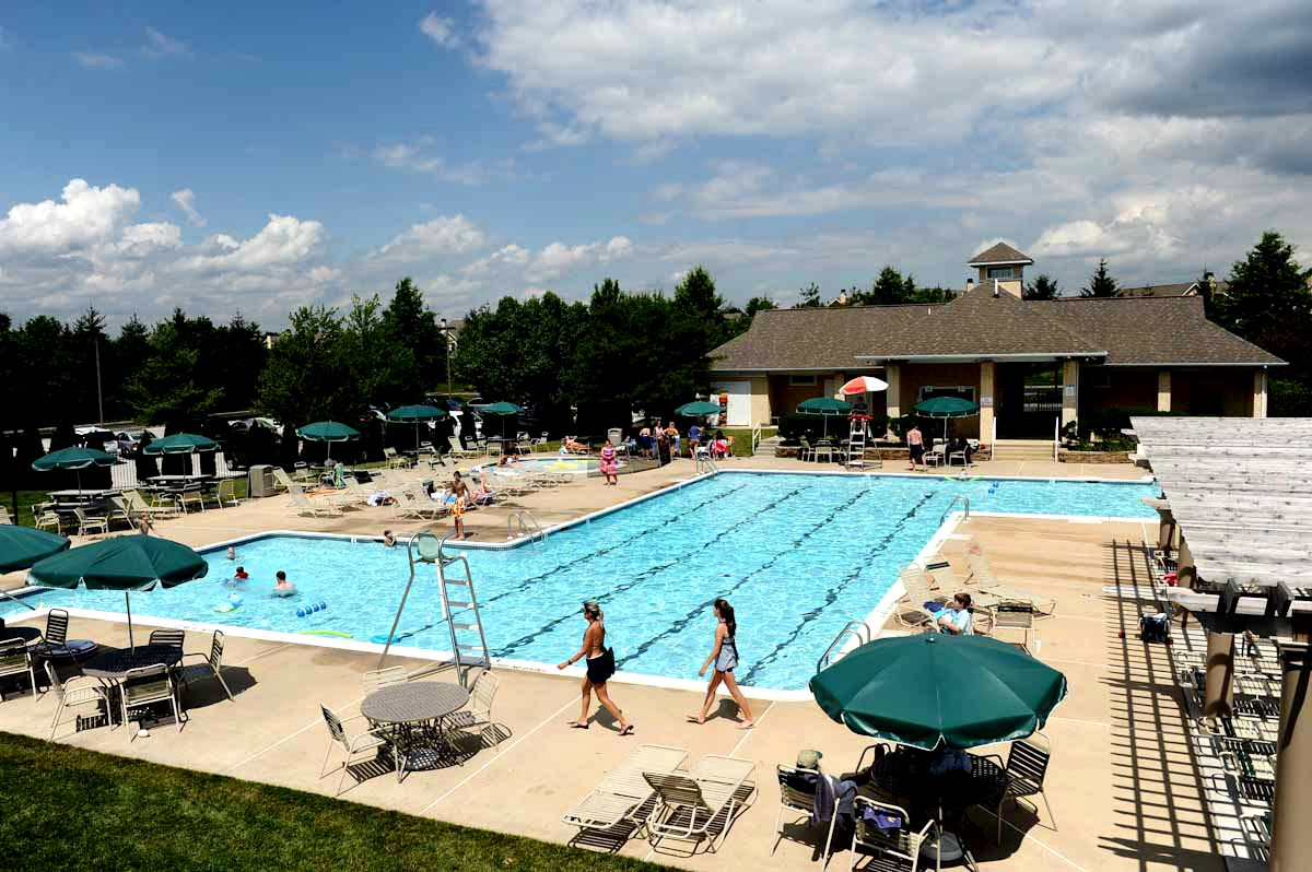 The Pool At Blue Bell Country Club An Array Of Amenities Pinterest