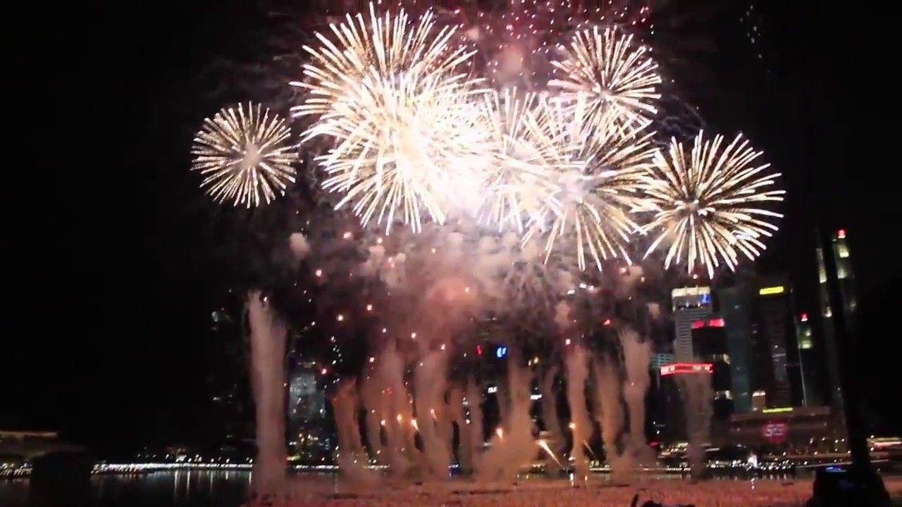 Singapore Fireworks 2017 2017startswithBTS New year