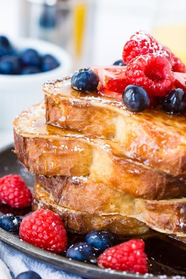 How to Make French Toast - Oh Sweet Basil