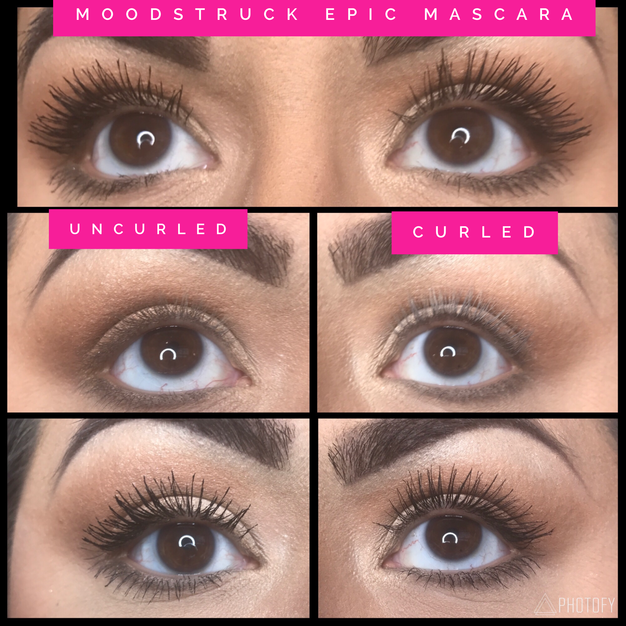 4952f37d0bc NEW Moodstruck Epic Mascara! This awesome one-step mascara will take your  lashes from boring to va-va-voom!!! $24 #lashes #epic #mascara #younique  #musthave ...