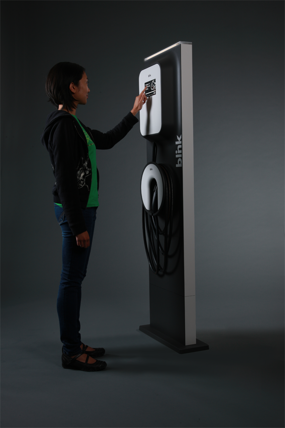 Blink Charging Stations >> Blink Ev Chargers On Id Magazine 产品们 Ev Charger