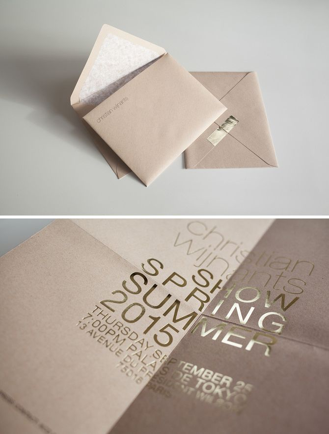 Unique Wedding Invitation Ideas From Your Favorite Fashion Brands ...