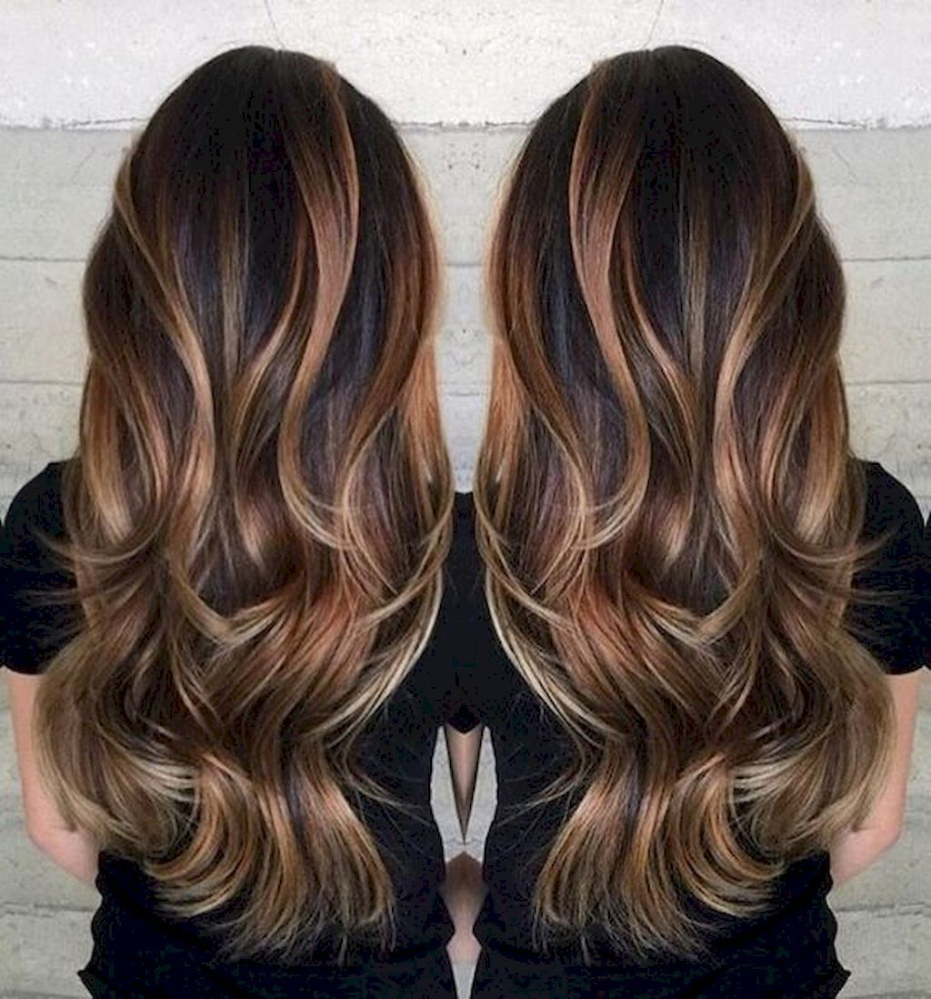 Awesome 75+ Hottest Balayage Hair Color Ideas for Brunettes  https://bitecloth.com/2017/11/16/75-hottest-bala… | Long brunette hair,  Hair styles, Hair color balayage