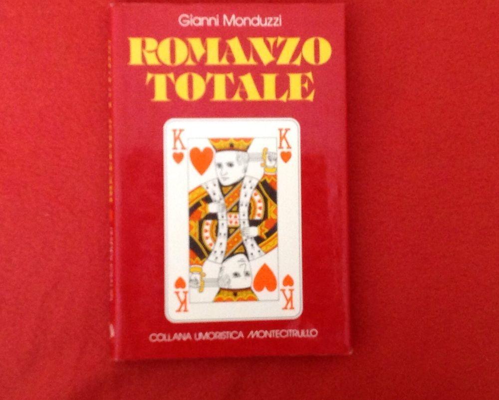Libro Gianni Monduzzi Romanzo totale Montecitrullo