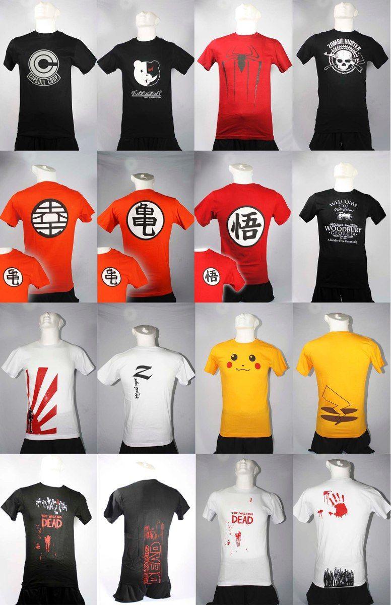 baratas para descuento zapatillas oficial de ventas calientes playera anime manga | Moda friki, Playeras y Camisetas ...