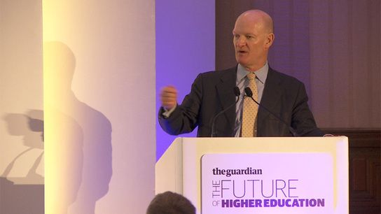 David Willetts at Guardian Higher Education Summit - video