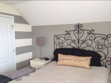 Bedroom Decor Melbourne ikea manger iron bed head, bed base & bed feet   beds   gumtree