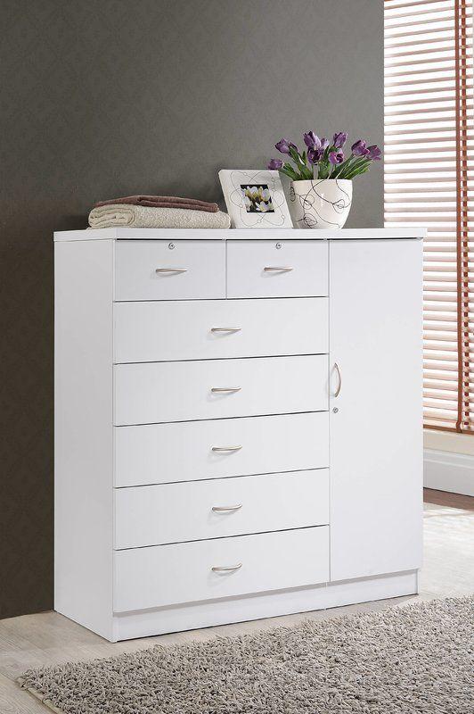 Roselyn 7 Drawer Combo Dresser | Closet | Pinterest | Dresser, Dresser  Drawers And 7 Drawer Dresser