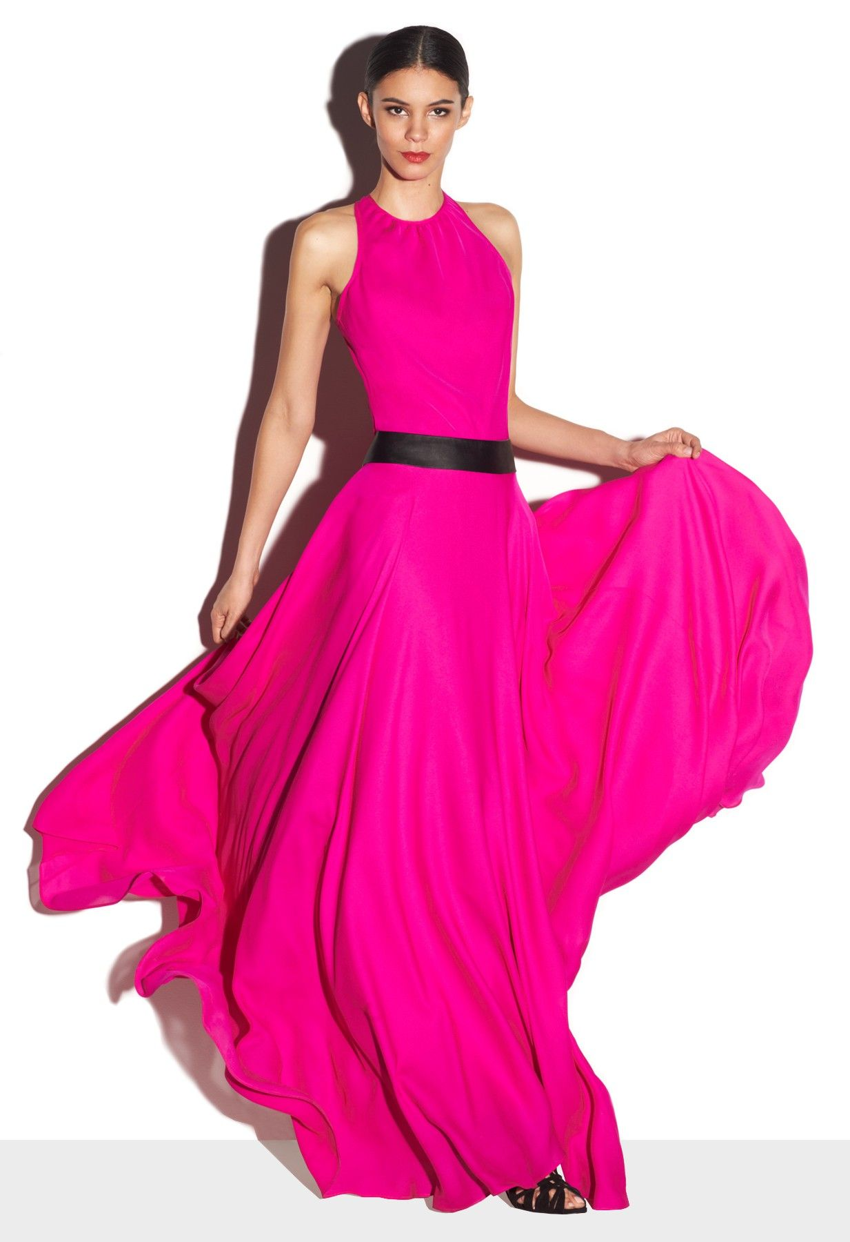 The perfect holiday dress from Milly | Vestido largo noche ...