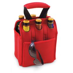 6 Pack Carrier.  What a great Father's Day, Graduation or Groomsmen Gifts!  www.GoosiePie.com