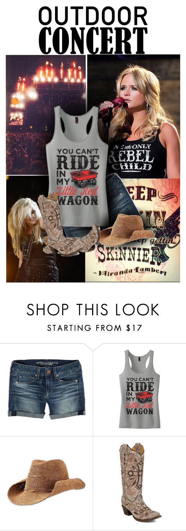 """""""Summer Concert"""" by cindycook10 ❤ liked on Polyvore featuring American Eagle Outfitters, Athleta, Corral and outdoorconcert"""