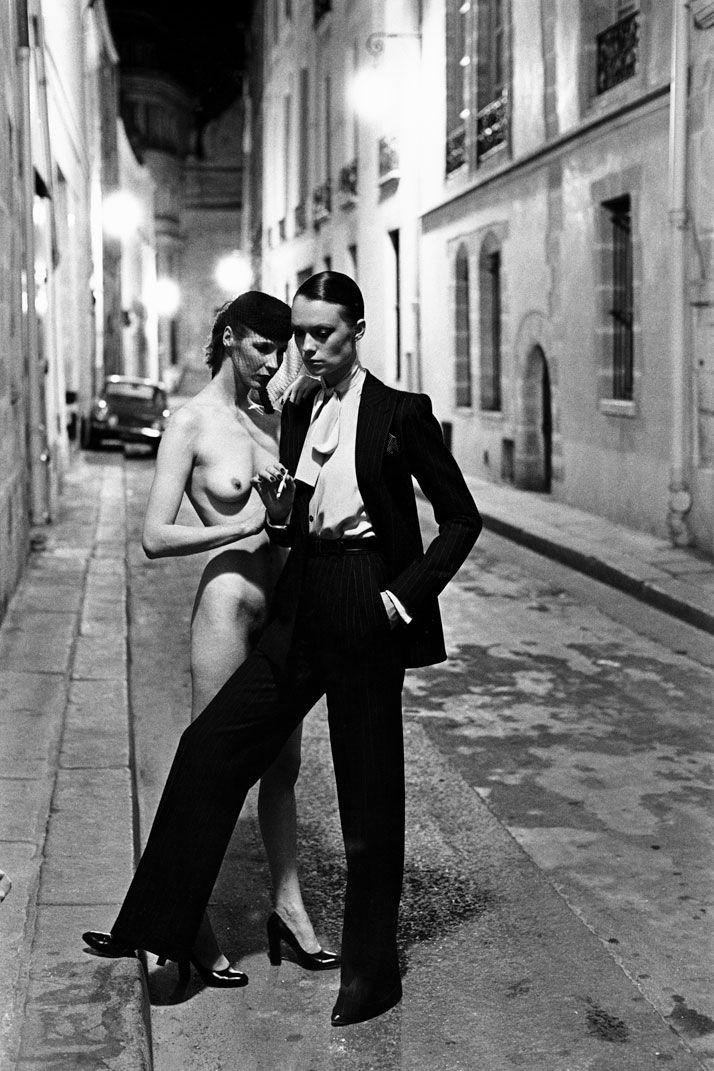 Image result for helmut newton girl in paris