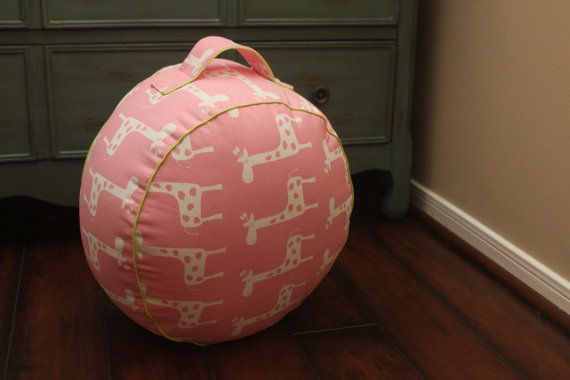 The Original Pouf Floor Cushion Gisella Baby Pink by sydandstitch