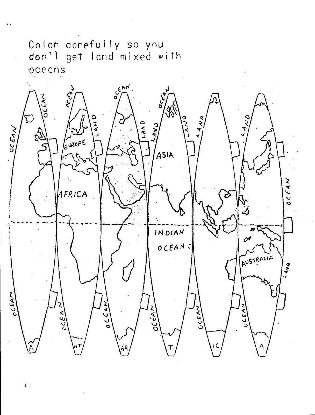 Make A Globe Pattern