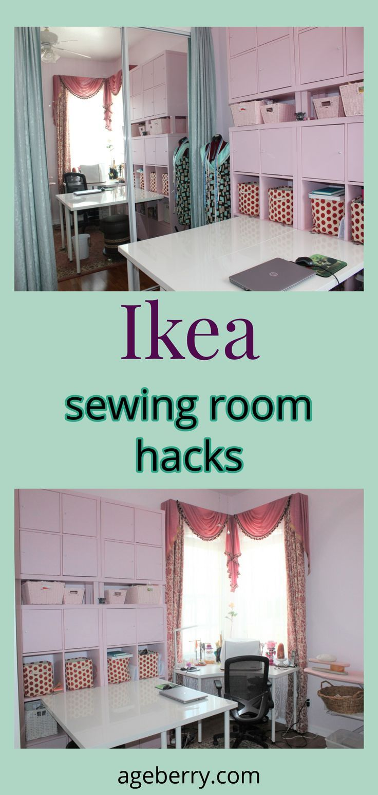 IKEA Sewing Room Hacks images