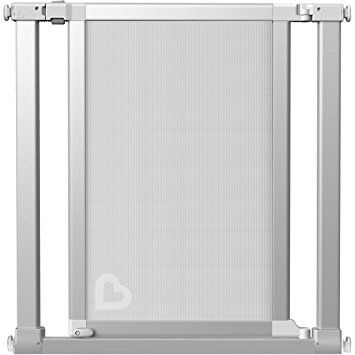 Munchkin Vibe Mesh and Steel Baby Gate, Ice, Model